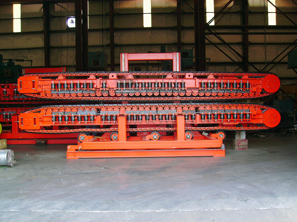 Linear Cable Laying Tensioner